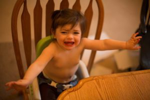 parenting with a toddler having tantrums