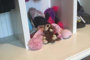 forgotten stuffed animal