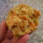 Carrot Zucchini Banana Muffins