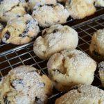 Raisin Puff Cookies