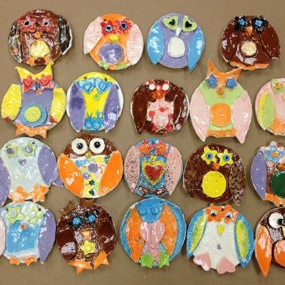 clay owls405x405