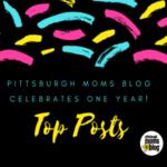 Pittsburgh Moms Blog One Year Anniversary
