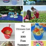 The Ultimate List of 100 Fun Summer Activities To Do With Your Kids