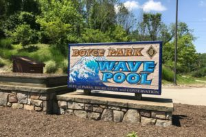 Wave Pool Boyce Park