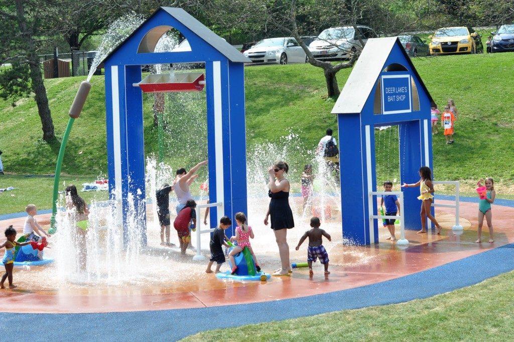 Spray Park at Deer Lakes Park