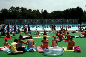 Settlers Cabin Park - Wave Pool