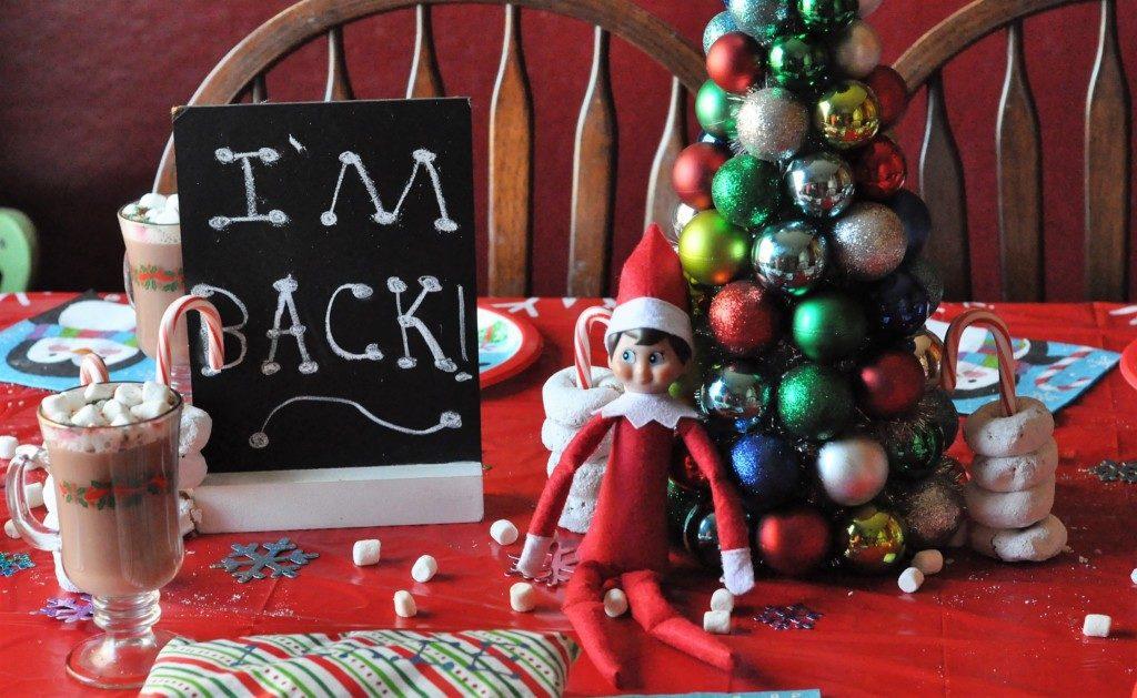 North Pole Breakfast: The Elf on the Shelf returns!