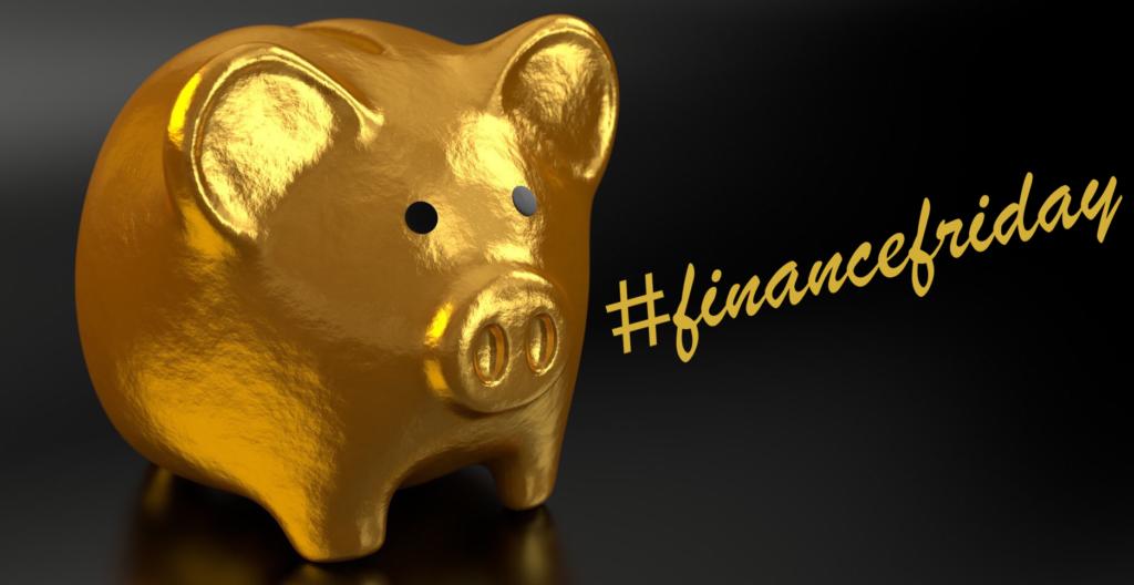 The #financefriday golden pig