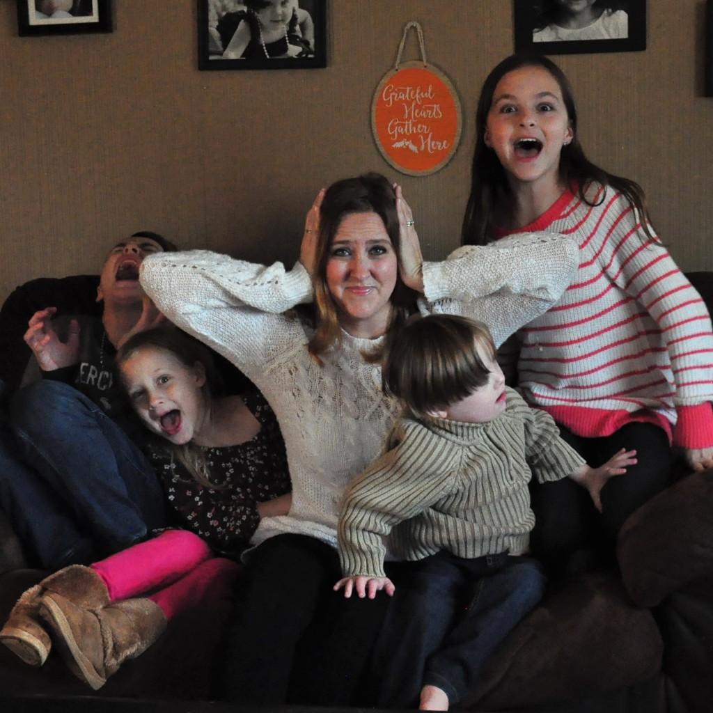 A Typical Day in the life of a busy mom of 4