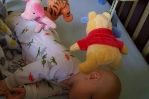 Gabriel sleeping