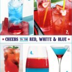 Patriotic Punch :: a 4th of July Recipe