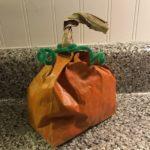 Halloween and Thanksgiving Craft: Paper Bag Pumpkin