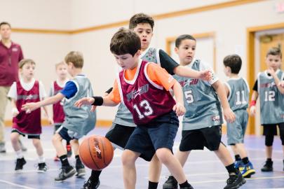basketball camp photo