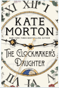 "The book jacket for ""The Clockmaker's Daughter"""