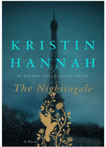 "Book jacket for Kristin Hannah's ""The Nightingale"""