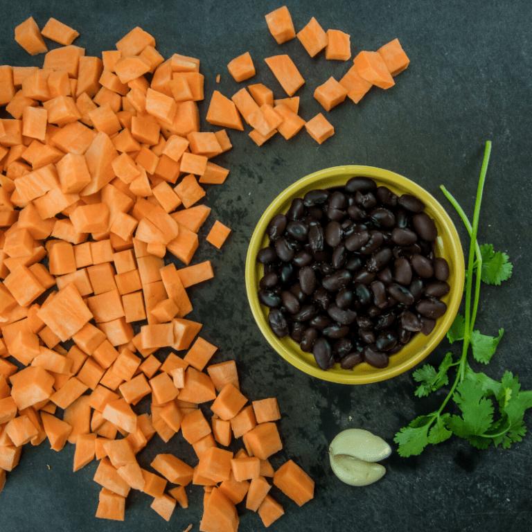 My Meat-free Mondays: Sweet Potato & Black Bean Tacos