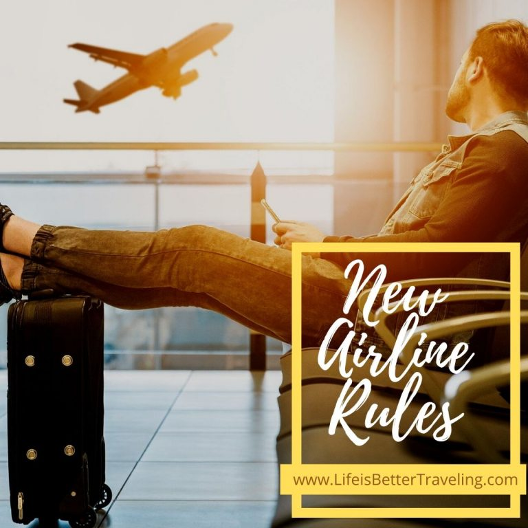 Are you ready to comply with the airline's new rules and regulations?